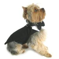 Buy cheap Classic Pet Dog Tuxedo Set with Tails Formal Wear costumes for puppies from wholesalers