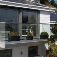 Buy cheap Europen Style Aluminum frameless glass balustrade channel for Patio from wholesalers