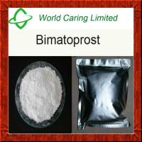 Buy cheap Active Pharmaceutical Ingredient 99% Purity Bimatoprost powder API for glaucoma product