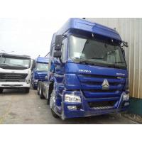 Buy cheap Blue Euro 2 6x4 Tractor Trailer Truckwith ZF8118 Technology Left Hand Drive from wholesalers