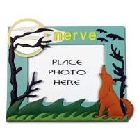 Buy cheap handmade silicone/ soft pvc / plastic photo frames with nature view from wholesalers