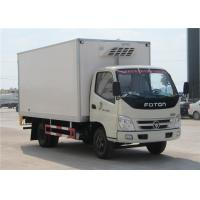 Buy cheap FOTON 6 Wheels small Refrigerated Box Truck , 3 Tons Refrigerator Freezer Truck from wholesalers