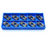 Buy cheap APMT1604PDER Indexable Carbide Inserts TiCN Coated For Lathe Turning Tool from wholesalers