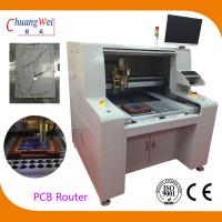 Buy cheap High Efficient PCB Router Machine PCB Singulation Dual workstation from wholesalers