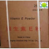 Buy cheap Poultry Feed Additives Off White Vitamin E Powder CAS 7695-91-2 SV-E98FE from wholesalers