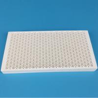 Quality Energy Saving Infrared Honeycomb Ceramic Burner Plate Lightweight Low Thermal Expansion for sale