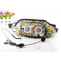 Buy cheap Outdoor Speaker Bag For Teaching Guiding , Sport Waist Bag With wired Microphone from wholesalers