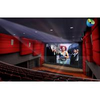 Buy cheap Huge Amazing 4D Movie Theater with Metal Flat Screen , Genuine Leather + Fberglass product