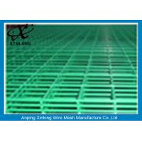 Buy cheap Steel Bar Welded Wire Mesh Fence Panels , Pvc Coated Wire Mesh Panels from wholesalers