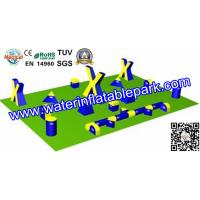 Buy cheap Customized 0.6 mm Inflatable Paintball Arena For Sport Games from wholesalers