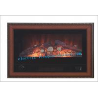 Buy cheap Luxury Black Indoor Home Decorators Electric Fireplace With Steel Body from wholesalers