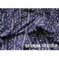 Buy cheap High Stretch Recovery Recycled Swimwear Fabric U Trust Verification Digital Print product