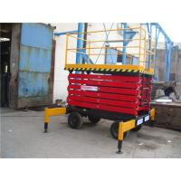 Buy cheap 2180kg 3-6m/min Aerial Work Platform ,self propelled scissor lift 10m Lifting Height from wholesalers