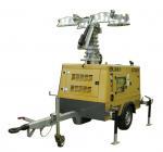 Buy cheap Mobile lighting tower generator, towable light tower generator in hydraulic operation from wholesalers