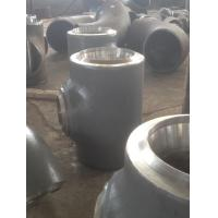 Buy cheap EN 10253 Heavy wall thickness tee pipe fittings , steel pipe connectors from wholesalers