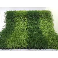Buy cheap Eco Friendly 50mm Playground Artificial Turf For Football Fields 11000Dtex PE from wholesalers