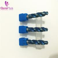 Buy cheap High quality Blue Nano Coating Carbide step drill bits from wholesalers