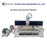 Buy cheap 3d Stone Carving Machine, 3d Stone Cnc Router, 3d Marble Cutting Machine,3 Axis Stone Cnc Router, Stone Carving Machine from wholesalers