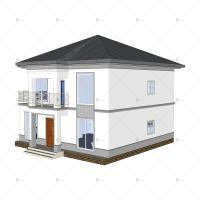Buy cheap Luxury Villa - (QB15) Sturdy Durable Steel Structure Prefab Model House Building Plans Designs from wholesalers