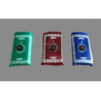 Buy cheap Waterproof maroon, blue, green Muslim pocket prayer mat carpet with Qibla Locator Compass from wholesalers