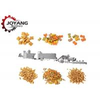 Buy cheap Stainless Steel Customized Dry Dog Food Making Machine Production Line 140-160 Kg / H from wholesalers