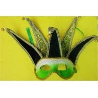 Buy cheap Venetian Masquerade Carnival Half Face Mask Jolly Jester Costume from wholesalers