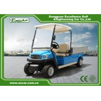 Buy cheap Blue Electric Utility Golf Cart Hotel Buggy Car For 2 Person Battery Operated CE Approved from wholesalers