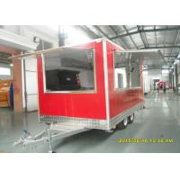 Buy cheap Pizza Oven Cart Food Concessions Trailers With Commercial Gas Pizza Oven from wholesalers