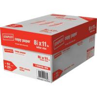 Buy cheap Staples copy paper Letter Size 8.5*11,75gsm and 80gsm from wholesalers