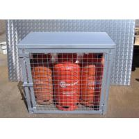 Buy cheap Compressed Gas Cylinder Cages Gas Canister Storage For Warehouse 800*900*430mm from wholesalers