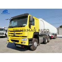 Buy cheap Carbon Steel Semi Trailer Fuel Tank , Oil Truck Tanker With Fuwa Axles from wholesalers