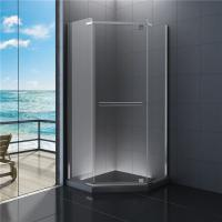 Buy cheap Diamond Bathroom Shower Enclosures , Clear Glass Shower Cabin 900 x 900 from wholesalers