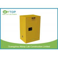 Buy cheap 45 Gallon Venting Industrial Storage Cabinets , Corrosive Chemical Storage Cabinets from wholesalers