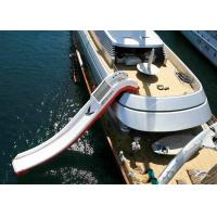 Buy cheap Giant Inflatable Water Spots, Inflatable Curved Yacht Boat Slide product