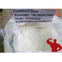 Buy cheap Oral Anti Estrogen Steroids Clomifene Citrate Bodybuilding Supplements CAS 50-41-9 from wholesalers