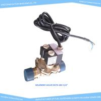 "Buy cheap Double flow electromagnetic valves 220VAC, male threaded,  3/4"",mounted on fuel dispenser product"