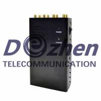 Buy cheap 8 Antenna Handheld Jammers GPS VHF UHF and 3G 4GLTE 4GWimax Phone Signal Jammer from wholesalers