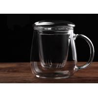 Buy cheap Environmental Glass Teapot With Infuser Removable Microwave ISO9001 Approved from wholesalers