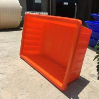 Buy cheap 1000L PE big plastic live fish transport tanks from wholesalers