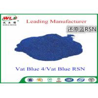 Buy cheap Cotton Dyes Blue Dye Stuff Rsn Vat Blue 4 Chemicals Used In Textile Dyeing from wholesalers