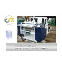 Buy cheap Two rolls pos carbonless paper /2ply thermal paper slitting and rewinding machine from wholesalers