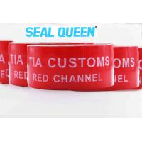 Buy cheap Red Tamper Evident Sealing Warranty VOID OPEN Tape Transfer Security Seal Tape from wholesalers