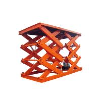 Buy cheap CE Approved 4 Ton Electric Lift Platform 4000kg Hydraulic Car Scissor Lift Table from wholesalers