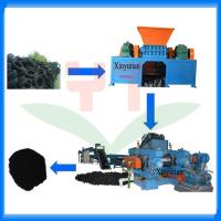 Buy cheap Automatic waste tyre recycling machine/tire recycling production line from wholesalers