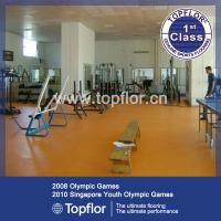 Buy cheap PVC Gym Floor Surface for Fitness Carpet from wholesalers