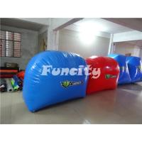 Buy cheap Custom Paintball Bunker Inflatable Sport Games for 10 Person 68PC from wholesalers