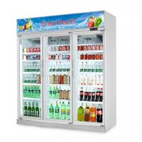 Buy cheap Flowers Drinks Commercial Beverage Cooler Display showcase With Double Doors from wholesalers