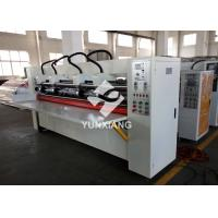 Buy cheap Offline Thin Blade Slitter Scorer Machine With Manual Type Paper Feeder from wholesalers