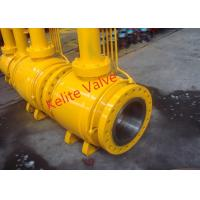 Buy cheap API ISO CE Standard Fully Welded Ball Valve , Metal Seated Ball Valves product