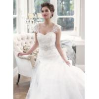 Buy cheap China 2014 Latest A-Line Lace/Tulle Train Hotel Bridal Wedding Dress for Wedding from wholesalers